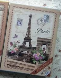 4 X 6 Photo Album Paris Retro Vintage Travel Photo Album 200 Holds 4 X 6 Inches Ebay