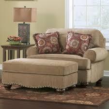 living room amazing chair ottoman set modern with brown ashley