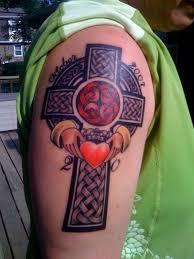 Celtic Cross Half - 40 celtic cross tattoos