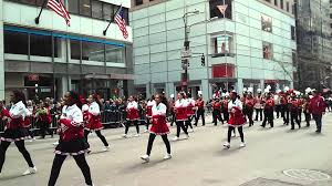 cardinal spellman high at nyc st patricks day parade youtube