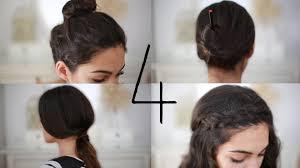 Hochsteckfrisurenen Hilfsmittel by 4 Frisuren Für 4 Situationen Einfach Und Schnell