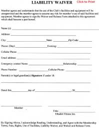release of liability form sample annual financial report template