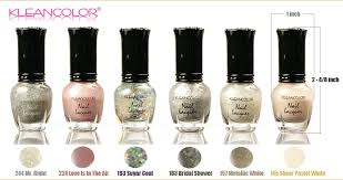 1 kleancolor bridal essence nail lacquer mini polish oh yes i do