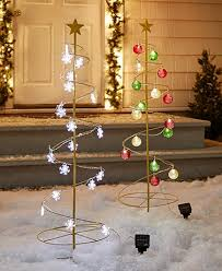 solar lighted spiral trees ltd commodities