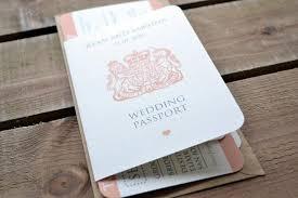 boarding pass wedding invitations wedding invitation personalised destination wedding invitation