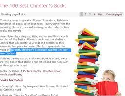 100 Best Children S Books A List Of Best Book Review For Children S Books High Five