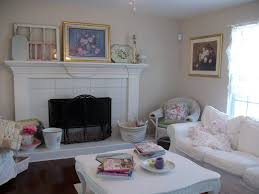 the amazing shabby chic living room