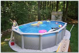 small backyard above ground pools pools home decorating ideas