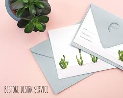 bespoke wedding stationery design service