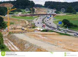 Autobahn Germany Map by Autobahn In Germany Under Construction Stock Photo Image 48751702