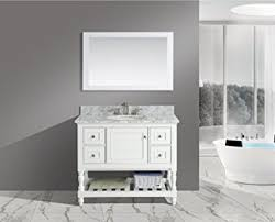 42 Bathroom Vanities by Amazon Com Urbanfurnishing Net Silvia 42 Inch 42