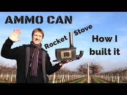 Appropriate Technology Development Rocket Stove Group Winter 2014 - how i built my ammo can rocket stove a small homemade wood stove