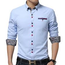 tshirts design new sky blue shirt chemise homme 2015 fashion design mens slim