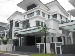 modern house black and white