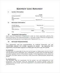 loan agreement template 9 free word pdf document download