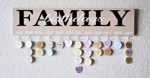 family birthdays or celebrations wall hanging plaque step by step