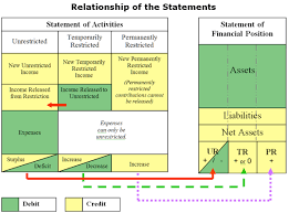Income Statement For Non Profit Organization Template by Statement Of Financial Position Nonprofit Accounting Basics