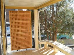 enjoy your rest and relax with the patio privacy screens home