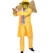 the mask costume mens the mask jim carrey costume stag do gangster zoot
