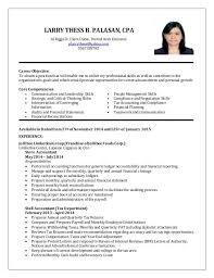 sample resumes for accounting resume sample for fresh graduate accounting svoboda2 com
