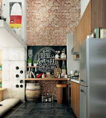 loft kitchen ideas best loft kitchen ideas on bohemian restaurant nyc part 47