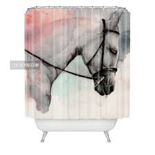 Zebra Shower Curtain by Online Get Cheap Horses Shower Curtain Aliexpress Com Alibaba Group