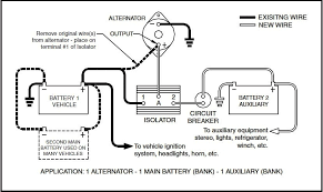 battery isolator wiring diagram wiring diagram and schematic