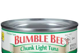 bumble bee chunk light tuna bumble bee recalls canned chunk light tuna