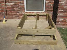 how to build a small deck best 25 small deck designs ideas on