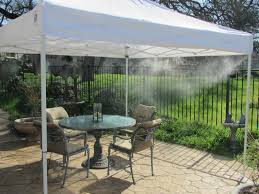low pressure recreational misting tents