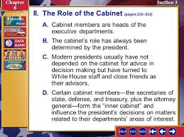 The Cabinet Members Splash Screen Ppt Download