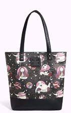 loungefly nightmare before print tote