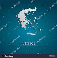Eros Map Vector Greece Map Card Paper On Stock Vector 195181796 Shutterstock