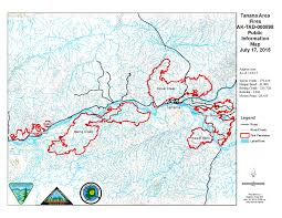 Alaska Rivers Map by Tanana Area Fires Update And Map July 17 Ak Fire Info