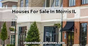 houses for sale in morris il