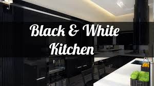 25 black and white kitchen design ideas youtube