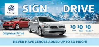 No Down Payment On New Volkswagens In Casper Wy