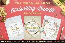 wedding programs exle 90 gorgeous wedding invitation templates design shack