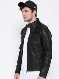 Boys Leather Bomber Jacket Jackets For Men Buy Men U0027s Jackets Online Myntra