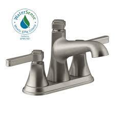 kohler mistos 4 in centerset 2 handle water saving bathroom
