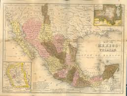 Mexico Map 1821 by Mexico1846 Jpg