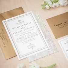 Gatsby Invitations Art Deco Wedding Invitation 1920 U0027s Invitation Roaring 20 U0027s