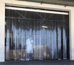 Industrial Curtain Wall Strip Curtains Vinyl Air Curtains And Plastic Strip Shields