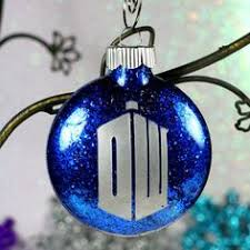 doctor who weeping and cyberman ornament doctor