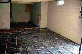 basement radiant heat rooms