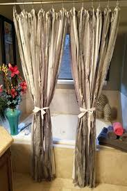 swag shower curtains with valance large size of coffee double swag