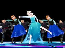 frozen u0027 disney characters dancing michael jackson u0027s