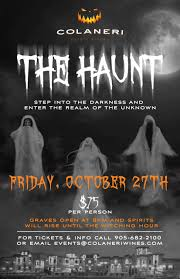 cmh halloween event at colaneri estate winery canada u0027s most haunted