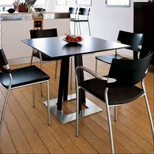 furniture dining room design with stainless dinette sets table for