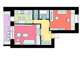 disposition de chambre le plan de la disposition de l appartement à une chambre de meubles